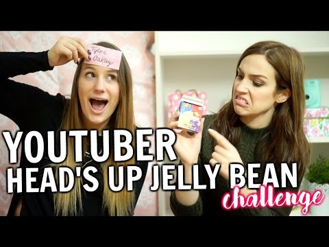 YOUTUBER HEADS UP JELLY BEAN CHALLENGE