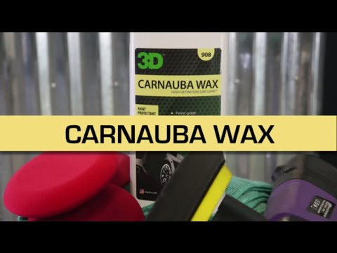 How to use liquid Carnauba wax on your exterior for car detailing and cleaning