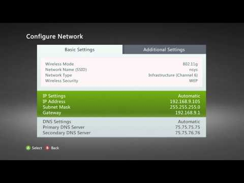 Change your Connection [NAT] type on Xbox360 to OPEN [EASY]