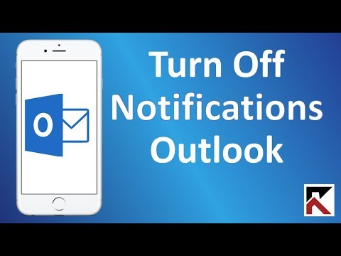 How To Turn Off Outlook Notifications iPhone