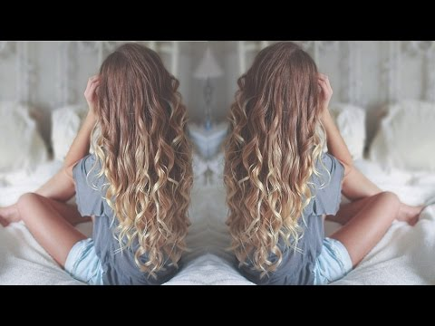 ✿ No Heat Loose Curls Tutorial | + BLOOPERS ✿