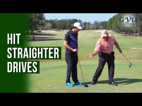 How to Straighten Your Drives - Tips from the Pro at Royal Pines Golf Resort