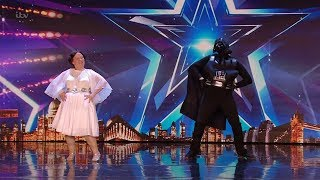 Britains Got Talent 2020 Audrey and Antony Star Wars Dance Revue Full Audition S14E04