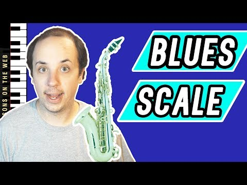How to Play the Blues Scale on Piano