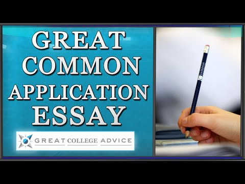 Write a Great College Essay for the Common Application - Prompt #1 for 2017-2018