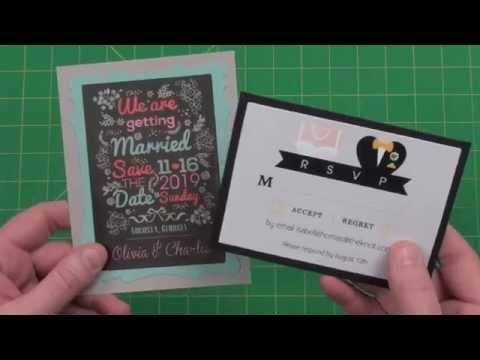 DIY 4 Bar Card Mats