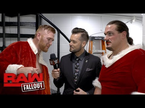 How does Heath Slater rate Rhyno as Mrs. Clause?: Raw Fallout, Oct. 30, 2017