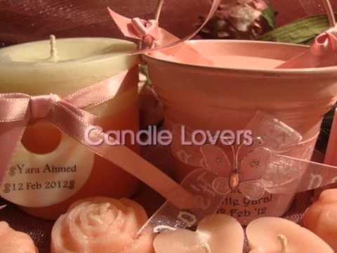 Candle Lovers - Baby Shower Favors