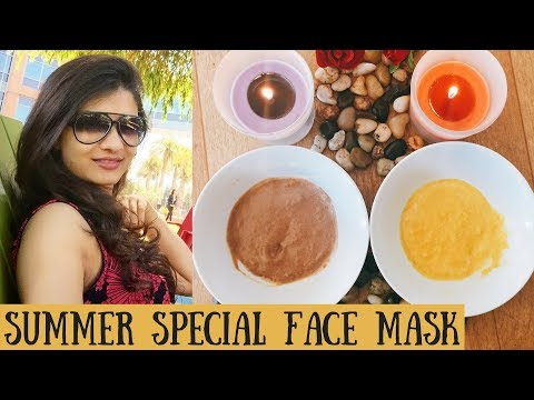 Summer Special Face Packs to get Clear, glowing & Spotless skin | Wheat Flour Face Pack /AVNI