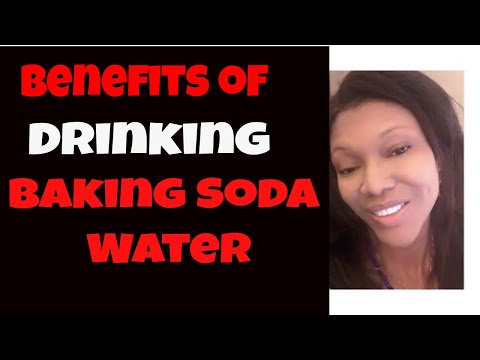 Benefits of Drinking Baking Soda Water