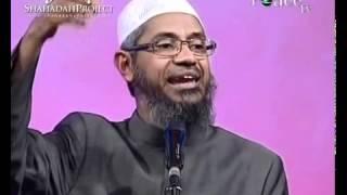 Is Quran written on Earth or in Heavens by God? Dr. Zakir Naik (Urdu)