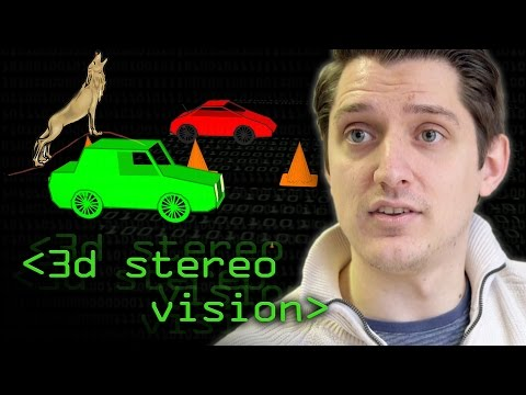 Stereo 3D Vision (How to avoid being dinner for Wolves) - Computerphile