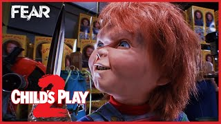 Chucky Gets His Arm Ripped Off | Child