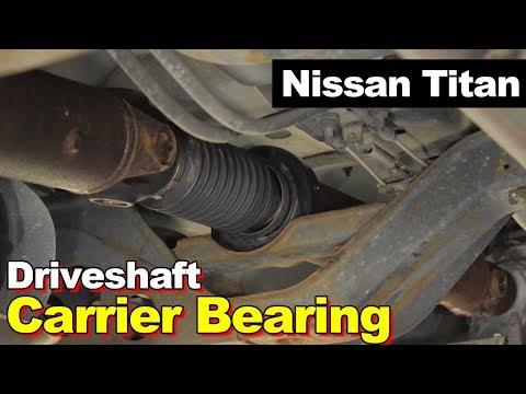Nissan Titan or Armada Driveshaft Universal U-Joint & Center Support Carrier Bearing
