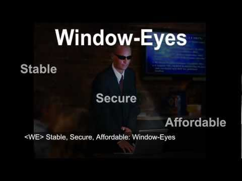 watch Window-Eyes Introduction (with Captions)