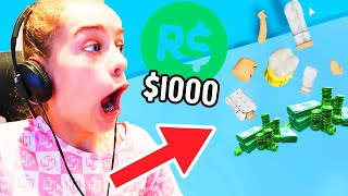 RISKING $1000 ROBUX IN TOWER OF HELL (unexpected RAGE)  w/ The Norris Nuts