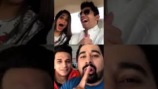 Divya Agarwal Varun Sood  Ranvijay and Prince Narula All are live   Mtv Roadies