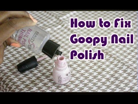 ✰Save Your Nail Polish with Nail Polish Thinner✰