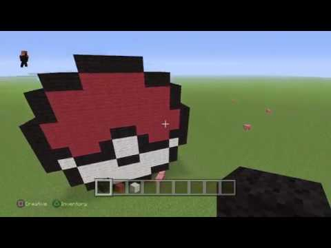Minecraft ps4 how to make a pokémon ball