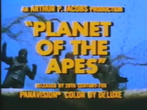 Official Trailer: Planet of the Apes (1968)