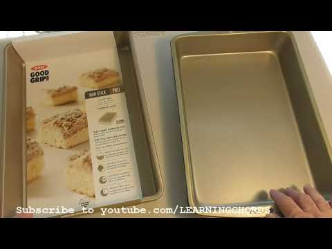 OXO Good Grips Non-Stick Pro Cake Pan 9 x 13 Inch REVIEW