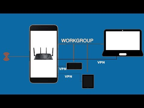 Create a WiFi hotspot from Android which is already connected to WiFi