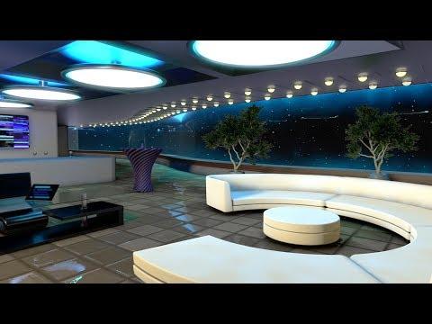 Starship White Noise | Sleep, Study, Focus | Spaceship Lounge Sound 10 Hours