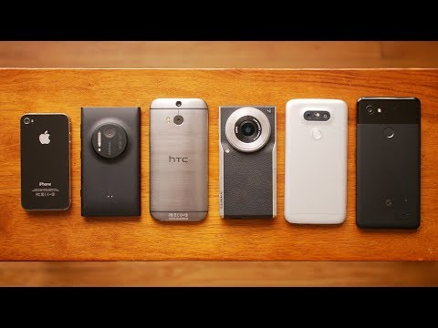 A brief history on some of the most innovative camera centric phones