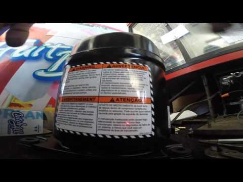 HOW TO REPLACE BEVERAGE AIR COMMERCIAL REFRIGERATOR COMPRESSOR. 1080HD.