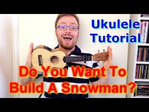 Do You Want To Build A Snowman? - Frozen (Ukulele Tutorial)