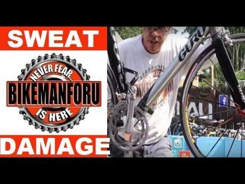 Gorgeous Guru Merus - Sweat Damage - Road Bike Check - BikemanforU