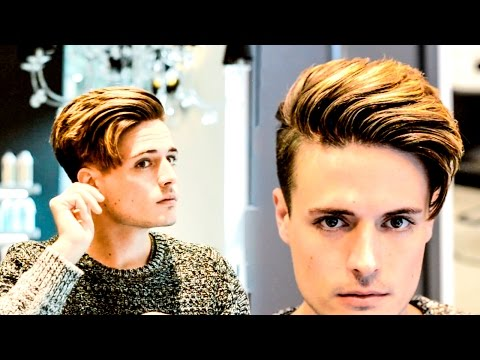 Mens Hair | Modern Side Swept Texture Hairstyle - Modern Quiff Inspired
