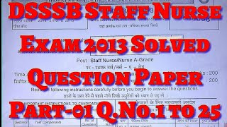 Staff nurse exam paper with answers key Videos - 9tube tv