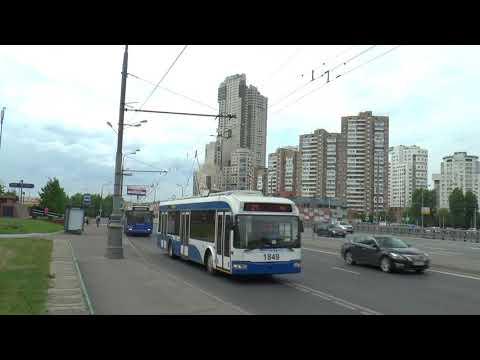 TROLLEYBUSES IN MOSCOW MAY 2018