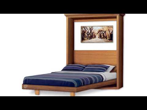 Build Murphy wall bed yourself under $300 by Plans Design