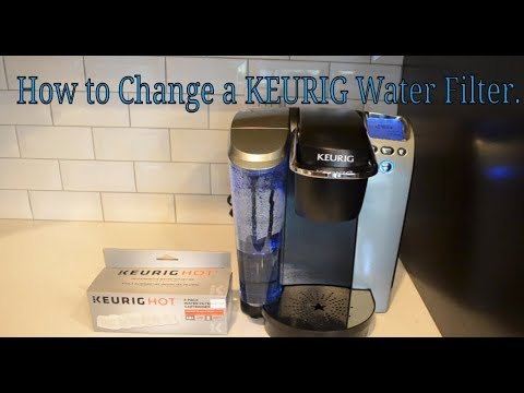 How To Change a KEURIG Water Filter.