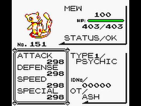 Pokemon Yellow: Getting perfect or flawless (max IV or DV) Pokemon via Remaining HP Glitch (Gen 1)