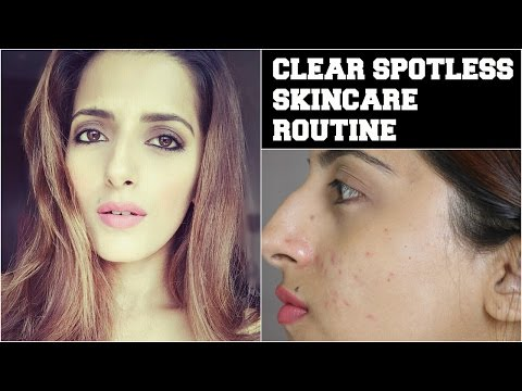 #Beauty Tips For Face- How To Get Crystal Clear, Glowing, Spotless Skin / Remove Acne & Pimple Scars