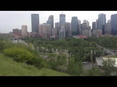 Calgary Alberta city downtown 2016