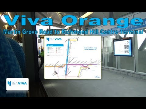 Viva Orange - Viva 2005 Van Hool A330 5105 (Martin Grove Road to Richmond Hill Centre Terminal)