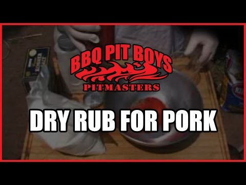 Barbecue Dry Rub Recipe for Pork by the BBQ Pit Boys