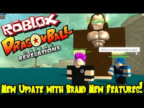NEW UPDATE WITH BRAND NEW FEATURES! | Roblox: Dragon Ball Online Revelations UPDATE!