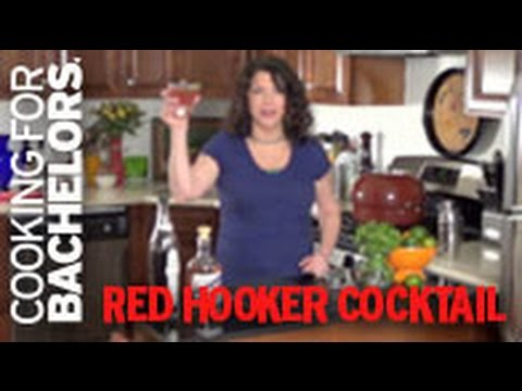 Red Hooker Cocktail by Cooking for Bachelors® TV