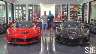 The Incredible Ferrari Collection of Pro Golfer Ian Poulter!