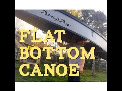 Flat Bottom Canoe DIY | Bushcraft Brent