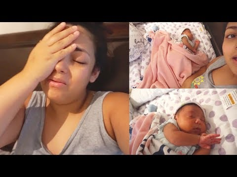 Drama After Giving Birth!!? Why We Had To Reupload + Baby Kalia at 3 Days Old.