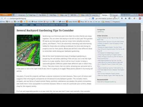 Create your own gardening blog with WordPress