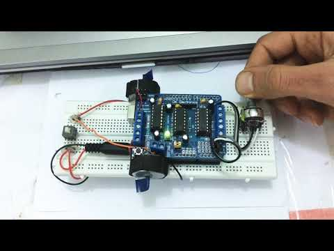#33/Arduino/Control 2 DC motor speed using Shield and potentiometer