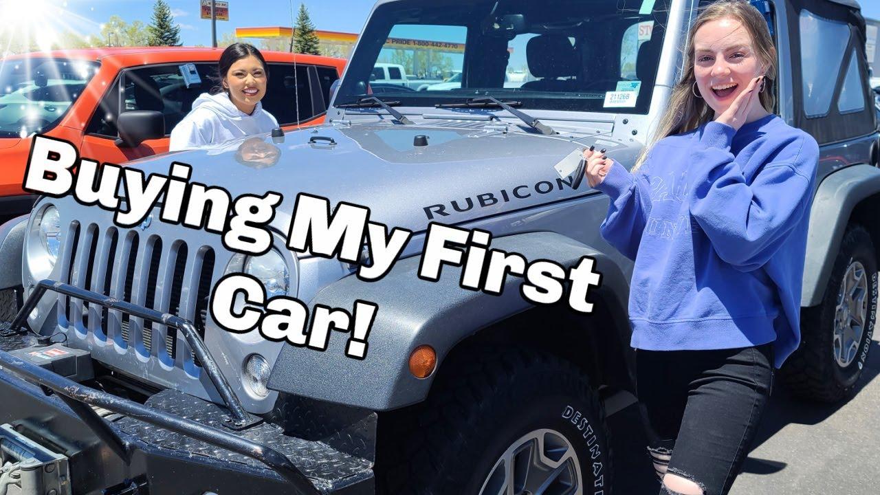 Car Shopping! | Bought First Car