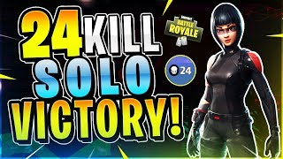18 Kills In Solo Fortnite Battle Royale